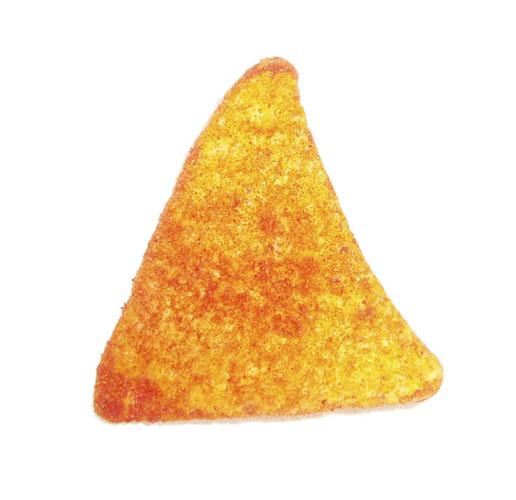 Dorito chip or landing strip